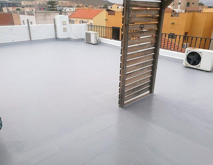 Proyección de Masilla: recubrimiento de techos con Masilla