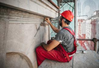 Recuperación de fachadas, esculturas y monumentos históricos